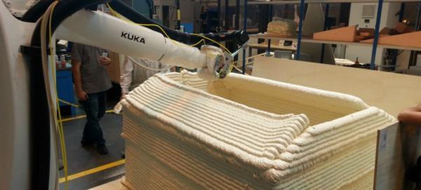 Новый 3D-принтер, который может построить временное жилье всего за 30 минут