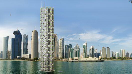Итальянские архитекторы предложили проект вертикального города для Ближнего Востока
