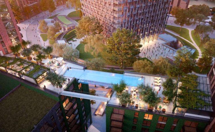 «Небесный бассейн» со стеклянным дном будет построен в Лондоне