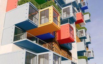Новый проект небоскреба из морских контейнеров для густонаселенного Мумбаи
