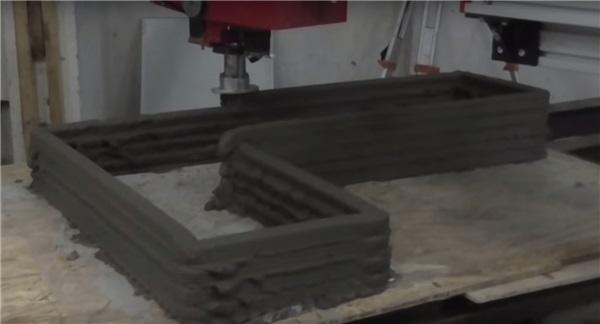 Новый циркулярный мобильный 3D-принтер строит дома быстро и эффективно