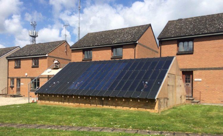 Лондонские ученые представили новую гибридную солнечную систему для домов