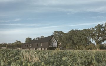 Black Barn: новый взгляд на традиционный дом-амбар