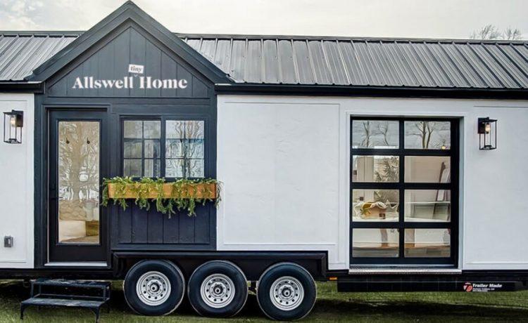 Крошечный дом на колесах от Walmart отправляется в рекламный тур по стране