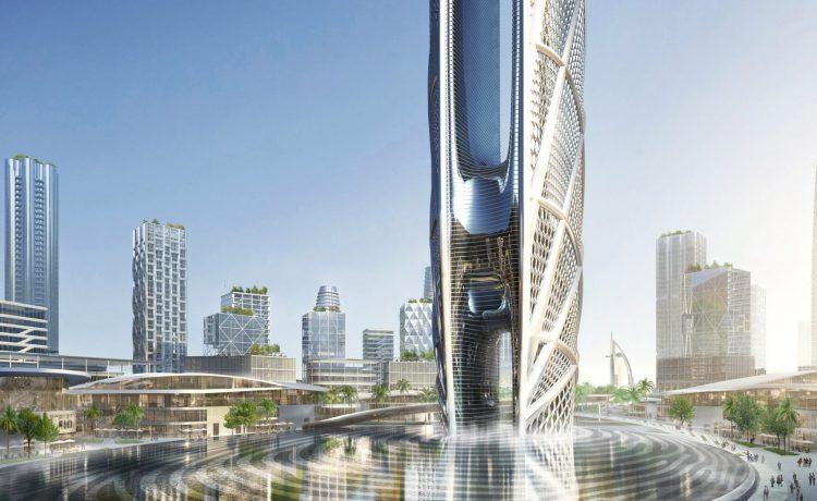 Дубай строительство нового небоскреба аренда квартир в дубай цена