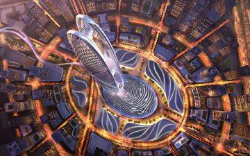 Новый супер-высокий небоскреб Бурдж Джумейра будет построен в Дубаи
