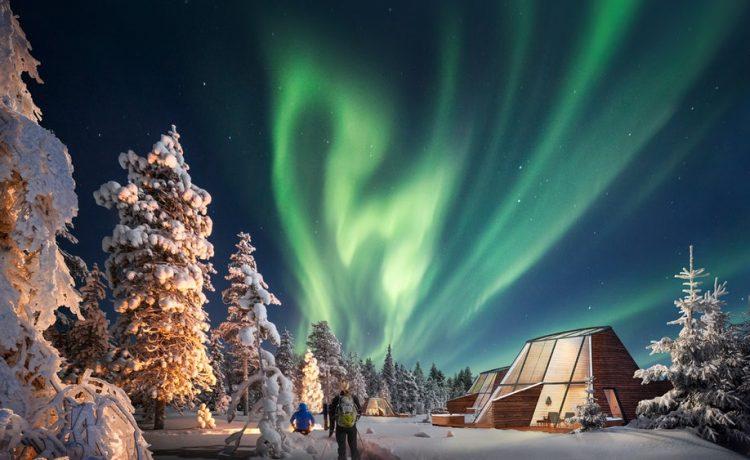 Glass Resort в Лапландии: лучшее место для наблюдения северного полярного сияния