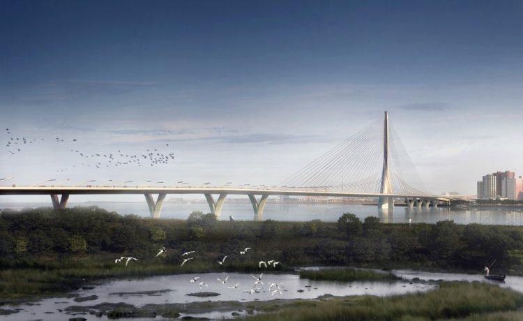 В Тайване построят самый длинный в мире одномачтовый мост