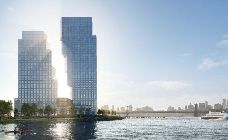 Пара «танцующих» башен будет построена в Нью-Йорке