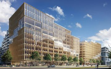 3XN представляет самое высокое деревянное офисное здание в Северной Америке