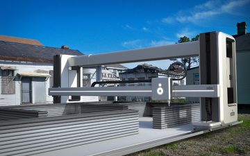 Vulcan II – новый 3D-принтер для строительства доступных домов