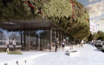 В Мадриде появится «зеленый космический корабль»