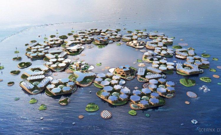 Проект плавучего города на 10 тысяч человек утвержден ООН