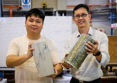 Новая «обертка» из армированного полимера для быстрого и качественного укрепления бетонных конструкций