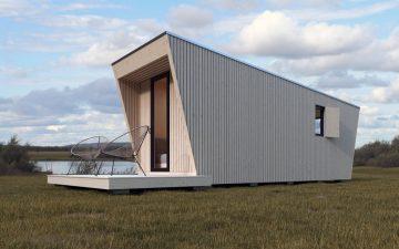 Сборный мини-дом, который можно установить в любом месте