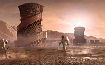 Выбрано лучшее 3D-печатное здание для Марса