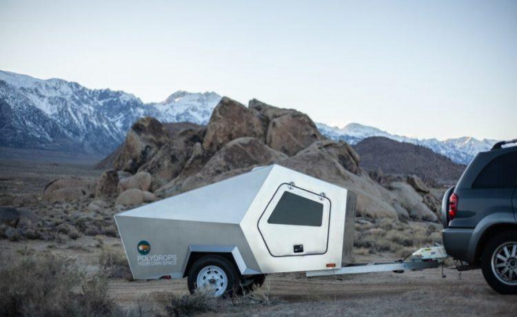 Этот футуристический трейлер может потянуть даже самый маленький автомобиль