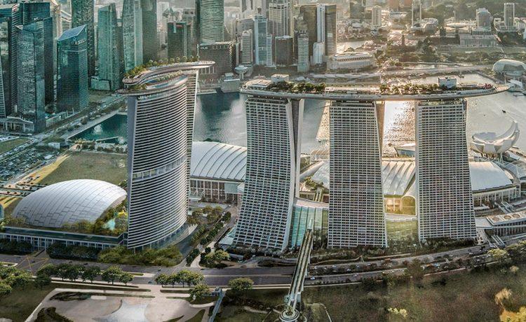 Четвертая башня для знаменитого отеля Marina Bay Sands в Сингапуре