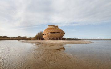 Яйцевидная обсерватория для птиц открылась в Нидерландах