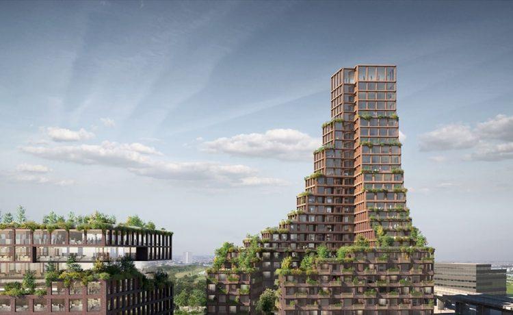 Первый в мире небоскреб из переработанных материалов будет построен в Копенгагене