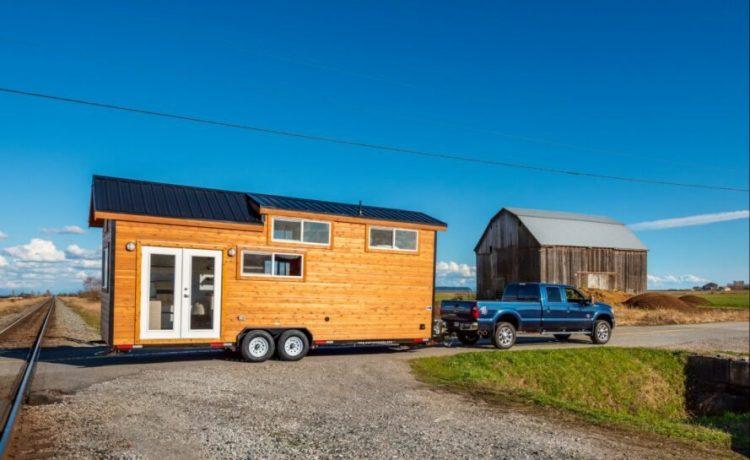 Крошечный дом на колесах с великолепным интерьером может стать вашим за 56 тыс. долл. США