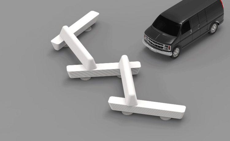 Дизайнер из Нью-Йорка установил 3D-печатные антитеррористические скамейки на Таймс-Сквер