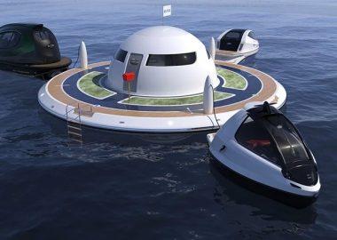 Неопознанный плавающий дом будет построен с помощью краудфандинга