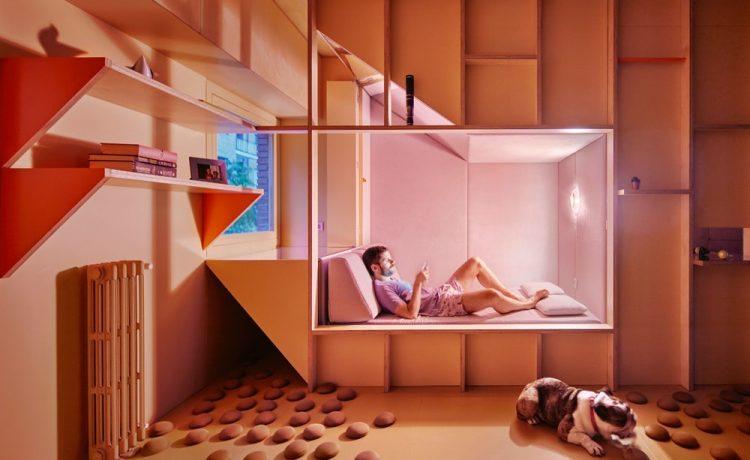 Квартира в Мадриде остается прохладной и без кондиционера