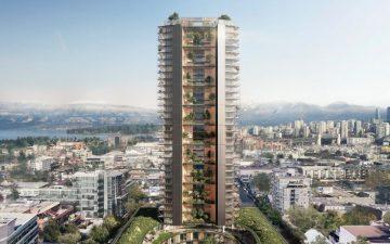 Самое высокое устойчивое деревянное здание будет построено в Ванкувере