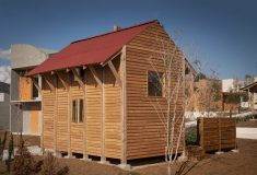 В Мексике представили экспериментальный модульный деревянный дом для массового строительства