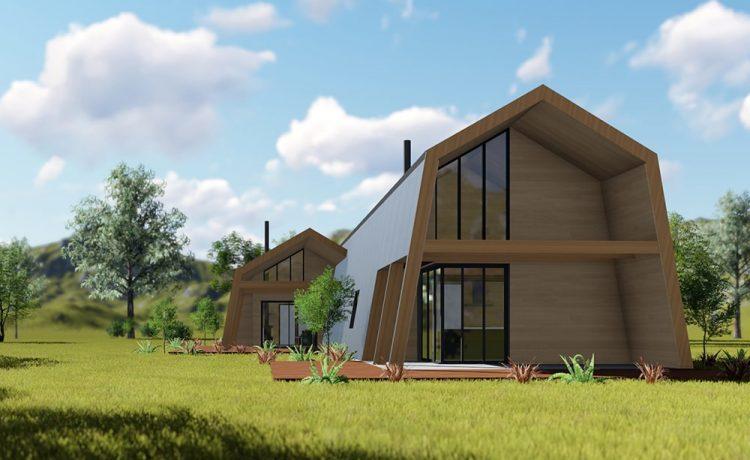 Ecokit - инновационный, высокотехнологичный дом, который можно собрать своими руками