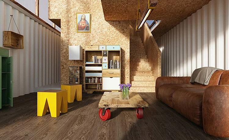Дома на основе грузовых контейнеров предлагаются в качестве доступного жилья в Перу