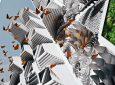 Архитекторы представляют 3D-печатную башню-заповедник для бабочек Монарха