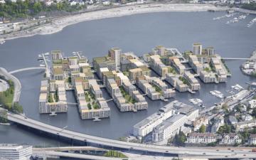 Плавучая эко-деревня будет построена в Норвегии
