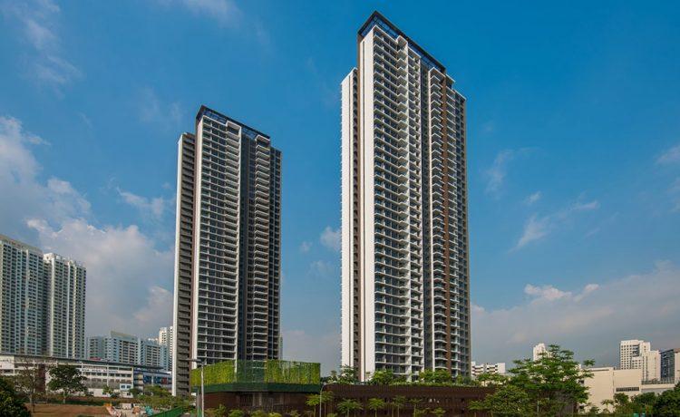 Самое высокое модульное здание построено в Сингапуре