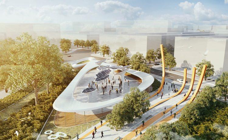 Представлен проект Центрального парка с производящими энергию «деревьями» для Хошимина