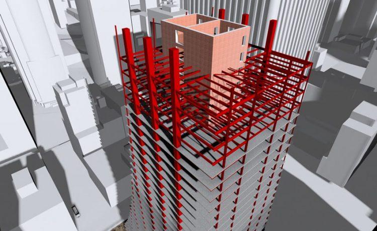 Speed Core - новая конструкция сердечника зданий для ускорения строительства небоскребов