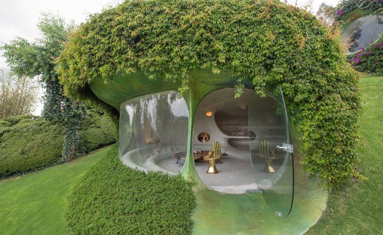 Мексиканский архитектор построил дом похожий на домик хоббита