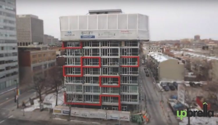 Компания из Канады предлагает новый способ строительства многоэтажек