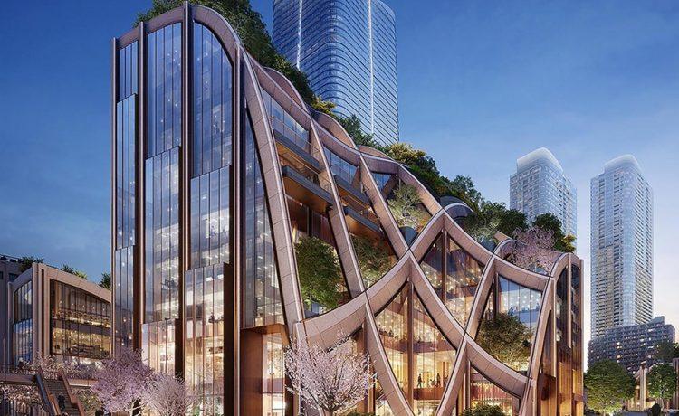 Студия Heatherwick построит новый зеленый район для Токио