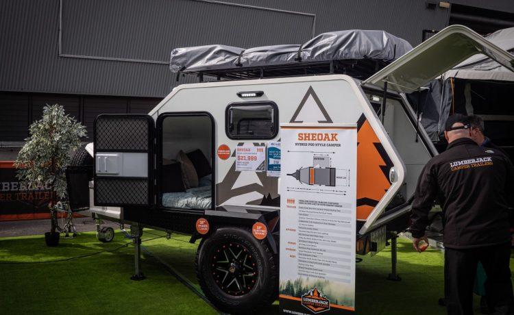 Австралийский «трейлер-слезинка» проедет по любой неровной местности