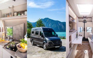 Новые туристические автофургоны Yucon с просторным интерьером и «умными функциями»