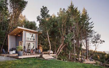 Ohana: крошечный дом для пары с видом на живописный Ванкувер
