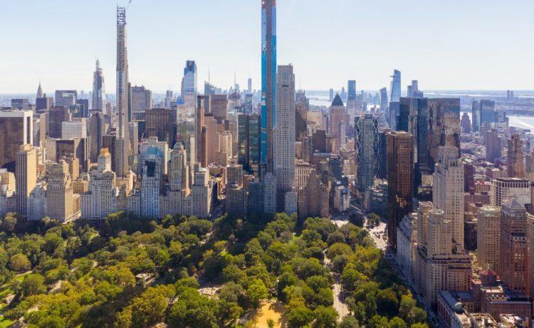 Самый высокий жилой небоскреб строится в Нью-Йорке