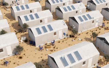 Приюты для беженцев можно построить из «бетонной ткани» за 24 часа