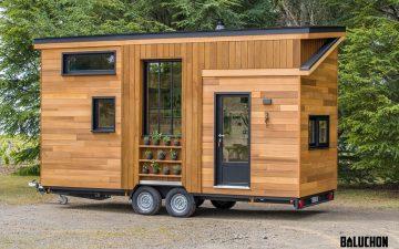 Astrild Tiny House: 6-метровый домик для семьи