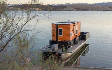 Heidi-Ho: дом, на котором можно путешествовать как по суше, так и по воде