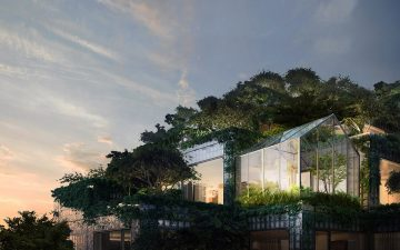 BIG раскрывает детали дизайна пентхаусов в Королевском комплексе в Торонто
