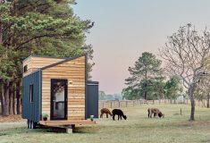Крошечный домик Sojourner – стильный, вместительный и удобный