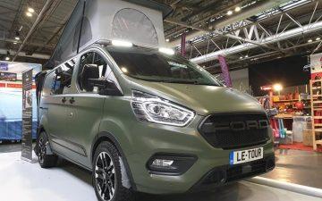 Ford Transit Custom Le-Tour: практичный модульный мини-кемпер от Wellhouse